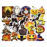 pegatinas de papelería al por mayor-25PCS / set 2019 Happy Halloween Christmas Scrapbook Stationery Stickers Planner Calendar Agenda School Art Craft Supplies B