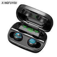 Wholesale iphone portable charge for sale – best Wireless Bluetooth Earphone S11 Touch Control TWS Headset Stereo Sound With Portable Charging Box Cell Phone Headphones With Mic Earbud