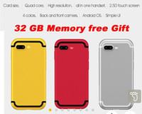 ingrosso marchio della porcellana mobile-SOYES 7S 2.54 pollici 2G Smart phone Android 6.0 Quad Core 1.3 GHz 1 GB di RAM 8 GB ROM 5MP Camera WiFi Bluetooth Mobile Phone regalo gratuito 32 gb momory