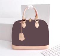 Wholesale body bb for sale - Group buy designer luxury handbag purses Genuine leather ALMA BB M53152 classic style tote clutch shoulder bags crossbody messenger bag
