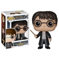figuras de ação de filme de brinquedo venda por atacado-Funko Pop Filme Harry Potter Action Figure Harry Potter Action Figure Toys Com Box Crianças Party For RRA1700 Favor