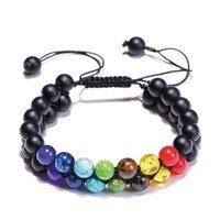 Wholesale mens turquoise bracelet resale online - 2020 New Woven Layers Bracelet mm Tiger Eye Stone Turquoise Bracelet Luxury Designer Jewelry Women Bracelets Mens Bracelets Couples Gift