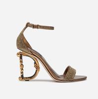 meilleures pantoufles à talons achat en gros de-Avec la boîte meilleure qualité pantoufles sandales diapositives talon haut sandales designer chaussures huaraches tongs mocassins pour femme par shoe06 D2202