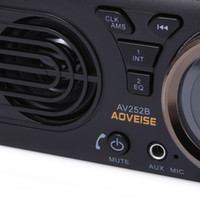 kit usb mp3 mp4 venda por atacado-AV252B 12 V Bluetooth 2.1 + EDR Veículo MP3 Player de Áudio do Carro Rádio FM Estéreo com Porta USB / TF Cartão