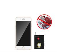 carro dvr câmeras ip venda por atacado-Nova Alta Qualidade CX307 + Mini Detector de Câmera GPS Tracker Finder Maior Sensibilidade Multi-Funcional GSM Dispositivo Localizador Bug Lens Detector