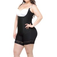 ca12c747d59 Women Lingerie Tummy Control Shapewear Fajas Slim Zipper Corset Control  Panties Hip Hugger Boyshort Shapewear for Plus Size CWS8514