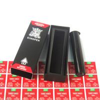 novo tubo vermelho venda por atacado-New Kingpen 710 Vape Vermelho Caixa de Embalagem de Embalagem para Atomizador Cartucho KP com Sabor Vermelho Adesivos Tubo De Plástico Preto DHL Livre