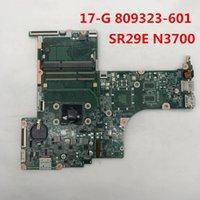 prise de test cpu achat en gros de-17-G pour ordinateur portable carte mère 809323-601 DAX13AMB6E0 Avec SR29E N3700 CPU LGA 1366 Intel x99 DDR3 100% Test complet