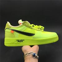 nike air force 1 off white Flyknit Utility mens CORCHO para mujer Uno 1 zapatos Runing alta corte de graves Todos amarillo blanco negro zapatillas de