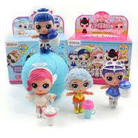 sonik oyuncak bebekler toptan satış-LOL Yeni Eaki Orjinal Ii Sürpriz Doll Lol Çocuk Bulmacalar Oyuncak Çocuk Komik Diy Oyuncak Prenses Bebek Orijinal Kutusu Çoklu Modelleri üret