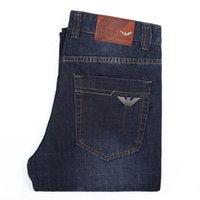 marca famosa homens de algodão jeans calças venda por atacado-nova itália marca jeans dos homens calças jeans uma moda jeans de algodão mani calças masculinas calca homens famosa marca jeans clássico 07