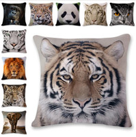 Wholesale animal hospital for sale - Group buy New Wonderful Animals Style Pillow Case Cushion Cover Home Party Bed Decoration Soft Gifts Pillow cover