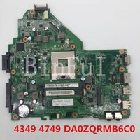 Wholesale intel motherboards for acer laptop online - High quality For Aspire Laptop motherboard DA0ZQRMB6C0 HM65 full Tested
