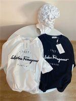 mans polo tişörtleri toptan satış-20ss lüks Paris FER bahar tshirt erkek kadın tişörtleri severler polo Kısa Kollu bahar Tee Nefes Yelek Gömlek 12.16 markalar