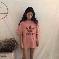mädchen oberhemd großhandel-T-Shirt Frauen Kurzarm Designer Girl Voller Gefühle Frauen Oberkörperalterung T-Shirt