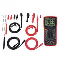 Wholesale ac voltage tester resale online - Temperature Multimeter Digital Multimeter AN881B AC DC Voltage Meter Temperature Tester Electrician Measurement