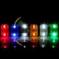 batería led spotlight al por mayor-BRO Fantástica Bicicleta Linterna de Luz LED para Bicicleta Proyector de Cabeza Cabeza Lámpara de Cola Linterna Bicicleta Luz LED con Batería # 225602