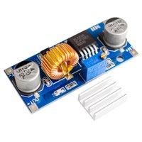 силовые цепи постоянного тока оптовых-5А 75W высокий XL4015 усилитель постоянного тока схема защиты понижающий преобразователь эффективность DC 5-36V к 1,2 в-32В понижающий модуль регулируемый