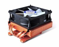 ingrosso ati-PcCooler K80D VGA Cooler 8cm fan 4 heatpipe NVIDIA ATI Graphics Cooler GPU Grafica 80mm Silenzioso Fan GPU Radiatore