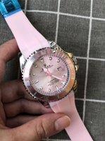 usb uhrenband großhandel-2019 R52 neue heiße Qualitäts-Marke Rolex der Frauen der Männer Diamant-Uhr-Uhren Auto Date Master-Stahlband Männer Frauen erraten Uhr Uhren