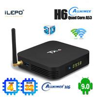 Wholesale best android smart tv box for sale - Group buy TX6 TV Box Top gb gb Best Smart Android TV Box G Wifi BT5 d k H