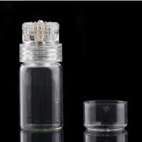 evde cilt bakımı derma toptan satış-Hydra İğne 20 Mikro İğne 0.25 / 0.5 / 0.6 / 1 / 1.5mm ev Cilt Bakım Cihazı için Biyoaktif derma rulo