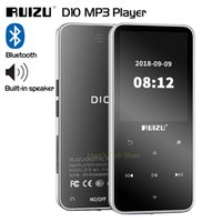 Wholesale mp3 mp4 player for sale - Group buy Original RUIZU D10 Bluetooth MP3 Player Lossless HiFi MP4 MP3 Music Player Portable Audio GB With Speaker FM Radio Clock