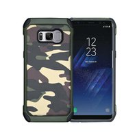 Wholesale phone dessert for sale - Group buy For Samsung s6 s7 s8 Note5 s7edge Colors Amy Camo Phone Case Phone Skin Back Covers City Dessert Jungle Camouflage SCA065