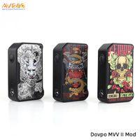 v c al por mayor-DOVPO M VV II Box Mod 280W Alimentado por baterías 18650 duales Puerto USB incorporado tipo C V Voopoo Drag Mod 100% Original