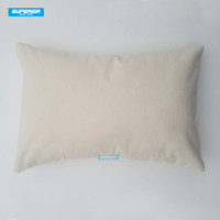 100pcs 12x18 inches Wholesale 8oz WHITE or NATURAL Cotton Canvas Pillow Cover Blanks Perfect For Stencils  Painting  Embroidery  HTV
