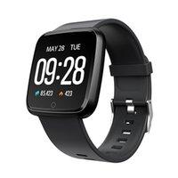 ionisches armband großhandel-Y7 Smart Fitness Armband Mi Band 3 ID115 Plus Blutdruck Sauerstoff Sport Tracker Uhr Pulsmesser Armband Pk Fitbit Versa Ionic