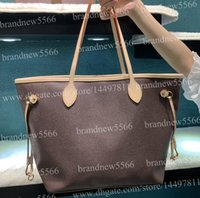 Wholesale tops classic tote bag resale online - 2019 Classic Women s Shopping Tote Bag cm with Wallet clutch inside Top Quality Genuine Leather Shoulder Bag more colors