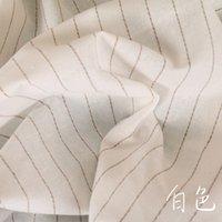 tecido de linho tingido venda por atacado-Novo linho tingido e tecido de algodão europeu e americano