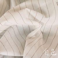 tejido de lino teñido de hilo al por mayor-Nuevo tejido de lino y algodón teñido con hilo europeo y americano