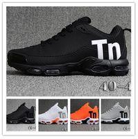 ingrosso migliori scarpe ad aria ammortizzata-Mercurial TN Mens scarpe da corsa del progettista 2019 uomini Casual Air Cuscino vestito da ginnastica Outdoor Migliori scarpe da trekking da jogging Sport US 7-12