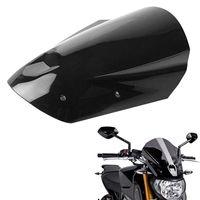 soportes yamaha al por mayor-Motocicleta parabrisas con el soporte de montaje para Yamaha MT-09-FZ FZ 09 MT 09 2013 2014 2015 2016