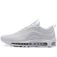 wholesale dealer 12e76 3bacb 2018 Undefeated 97 Ultra OG Plus Men Running Shoes air Run Black 97s Sports  Jogging Walking Maxes Mens Trainers Athletic Sneakers