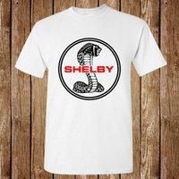 cobra t-shirt achat en gros de-Shelby Cobra Classic Logo de voiture de course Nouveau T-shirt Unisexe