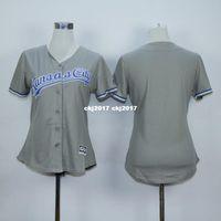 Wholesale womens blank baseball jerseys for sale - Group buy 2016 Womens Gianting Home Alternate Flexbase Stitched White Gray Blue blank Retro Jerseys