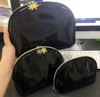 Wholesale beauty cosmetics sale resale online - Hot sale Snowflake famous brand cosmetic case luxury makeup organizer bag beauty toiletry wash bag clutch purse tote VIP gift