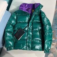 casaco novo modelo venda por atacado-2019 Inverno Nova Jaqueta de Down Homens Mulheres Modelos de Casal Parágrafo Curto Gola Designer Jaquetas Mens Designer Jaquetas de Alta Qualidade casaco Quente
