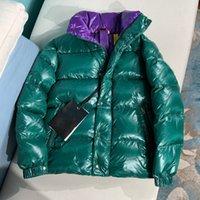ceket yeni model toptan satış-2019 Kış Yeni Aşağı Ceket Erkek Kadın Çift Modelleri Kısa Paragraf Yaka Tasarımcı Ceketler Erkek Tasarımcı Ceketler Yüksek Kalite Sıcak ceket