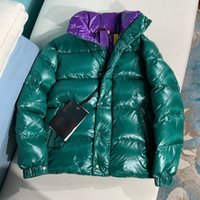 jacke neues modell großhandel-2019 Winter Neue Daunenjacke Männer Frauen Paar Modelle Kurzen Absatz Kragen Designer Jacken Herren Designer Jacken Hohe Qualität Warme Jacke