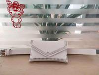 Wholesale color fanny pack for sale - Group buy Designer Women Rivet Belt Bags Solid Color Rivet Shoulder Waist Bags Women PU Leather Fanny Packs Casual Purse Wallet Chest Belt Bag