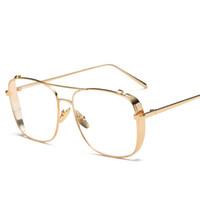 Wholesale sunglasses street resale online - designer glasses clear lens glasses men glasses sunglasses women new fashion street street sunglasses color