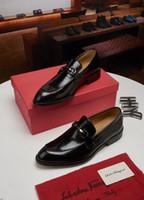 Wholesale double buckle shoes mens for sale - Group buy italian business mens dress shoes oxford shoes for men formal shoe men double monk strap shoes zapatos hombre chaussure homme