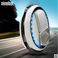 um scooter elétrico rodado venda por atacado-Freeshipping Ninebot One C + monociclo elétrico de uma roda scooter de carro de equilíbrio elétrico LED, 500 W, Monocycles pensando electrioques