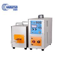 ingrosso porcellana riscaldatore-Migliore prezzo di 15KW ad alta frequenza macchina riscaldamento IGBT induzione per tempra, ricottura, saldatura, trattamento termico dei metalli made in China
