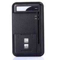 chargeur de batterie pour téléphone intelligent achat en gros de-Chargeur de batterie intelligent de téléphone portable pour Samsung Galaxy S5 S4 NOTE 4 3 Chargeurs de voyage muraux Nokia Xiaomi HTC Sideslip 70mm