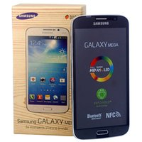 Wholesale mega cell phones samsung for sale - Group buy Refurbished Cell Phones Samsung Galaxy Mega I9152 Inch G RAM G ROM Dual Core MP Camera Android Mobile Phone